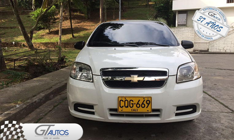 Chevrolet Aveo Emotion Gt Autos Carros Usados En Cali